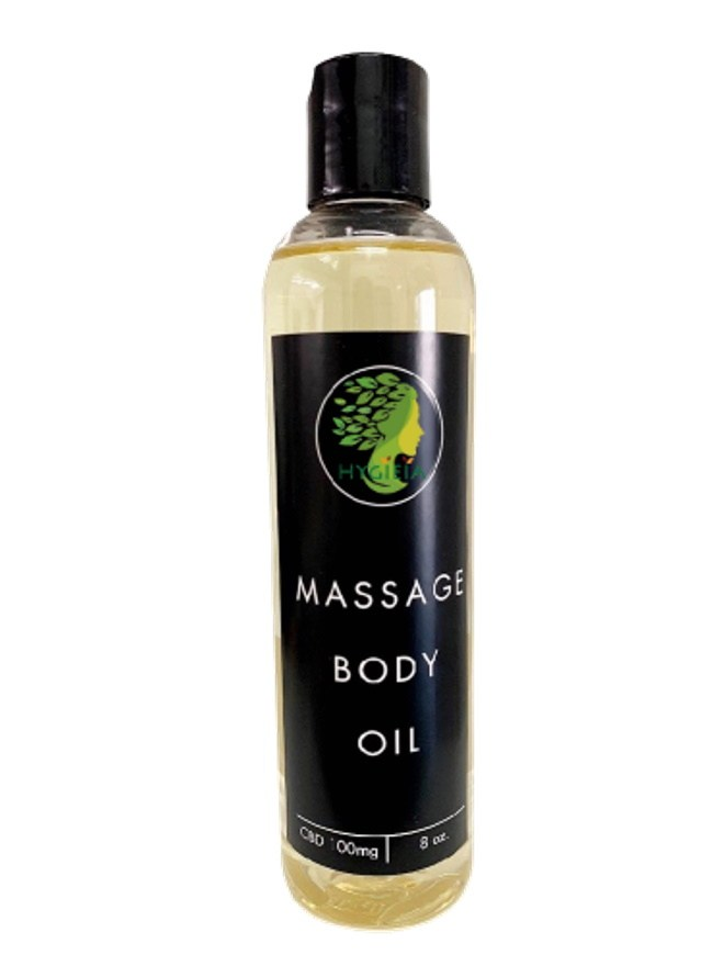 100mg Massage Body Oil